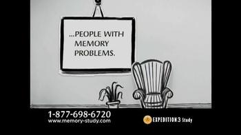 Expedition 3 Study TV Spot, 'Memory Loss' - Thumbnail 2
