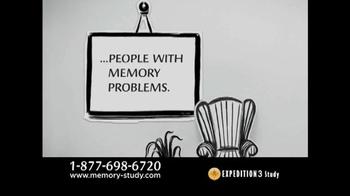 Expedition 3 Study TV Spot, 'Memory Loss' - Thumbnail 3