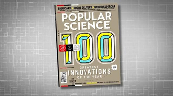 Popular Science Magazine TV Spot, 'Best of What's New' - Thumbnail 1