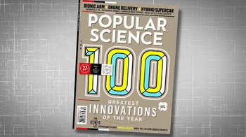 Popular Science Magazine TV Spot, 'Best of What's New' - Thumbnail 2