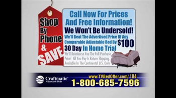 Craftmatic TV Spot, 'Shop by Phone and Save' - Thumbnail 9