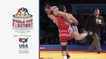 2015 Freestyle Wrestling World Cup TV Spot - Thumbnail 2