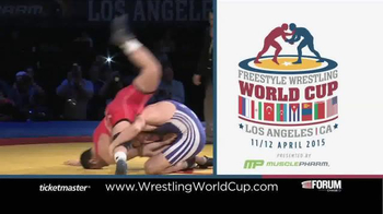 2015 Freestyle Wrestling World Cup TV Spot - Thumbnail 9