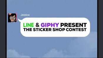 Line App TV Spot, 'The Sticker Shop Contest' - Thumbnail 1