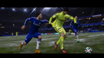 FIFA 15 TV Spot, 'Messi vs. Hazard' Ft. Lionel Messi, Eden Hazard - Thumbnail 6
