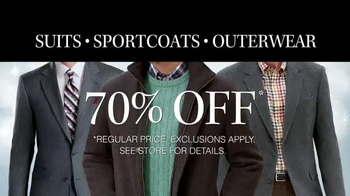 JoS. A. Bank TV Spot, 'Deals on Suits, Sportcoats and Outwear' - Thumbnail 3
