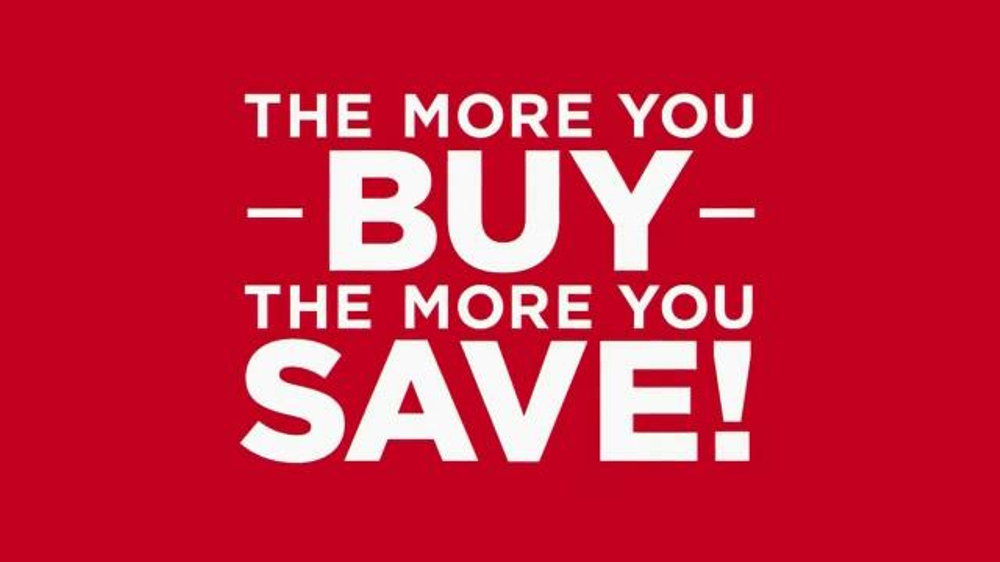 Kohl S Tv Commercial The More You Buy The More You Save
