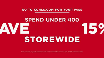 Kohl's TV Spot, 'The More You Buy, the More You Save' - Thumbnail 7
