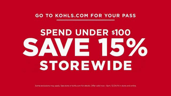 Kohl's TV Spot, 'The More You Buy, the More You Save' - Thumbnail 8