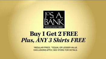 JoS. A. Bank Buy 1 Get 2 Free TV Spot, 'Suits, Sportcoats and Shirts' - Thumbnail 4
