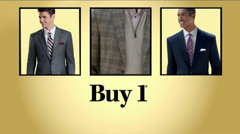 JoS. A. Bank Buy 1 Get 2 Free TV Spot, 'Suits, Sportcoats and Shirts' - Thumbnail 7