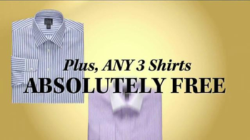 JoS. A. Bank Buy 1 Get 2 Free TV Spot, 'Suits, Sportcoats and Shirts' - Thumbnail 8