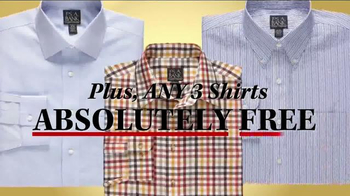 JoS. A. Bank Buy 1 Get 2 Free TV Spot, 'Suits, Sportcoats and Shirts' - Thumbnail 9