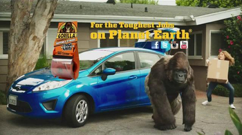 Gorilla Glue Packaging Tape TV Spot, 'From the Front Door to the Trunk' - Thumbnail 8