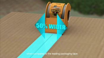 Gorilla Glue Packaging Tape TV Spot, 'From the Front Door to the Trunk' - Thumbnail 7