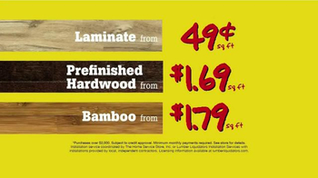 Lumber Liquidators TV Spot, '20 Years of Unbelievable Prices' - Thumbnail 10