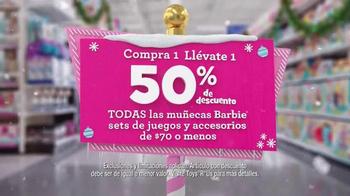 Toys R Us TV Spot, 'Muñecas Barbie' [Spanish] - Thumbnail 3