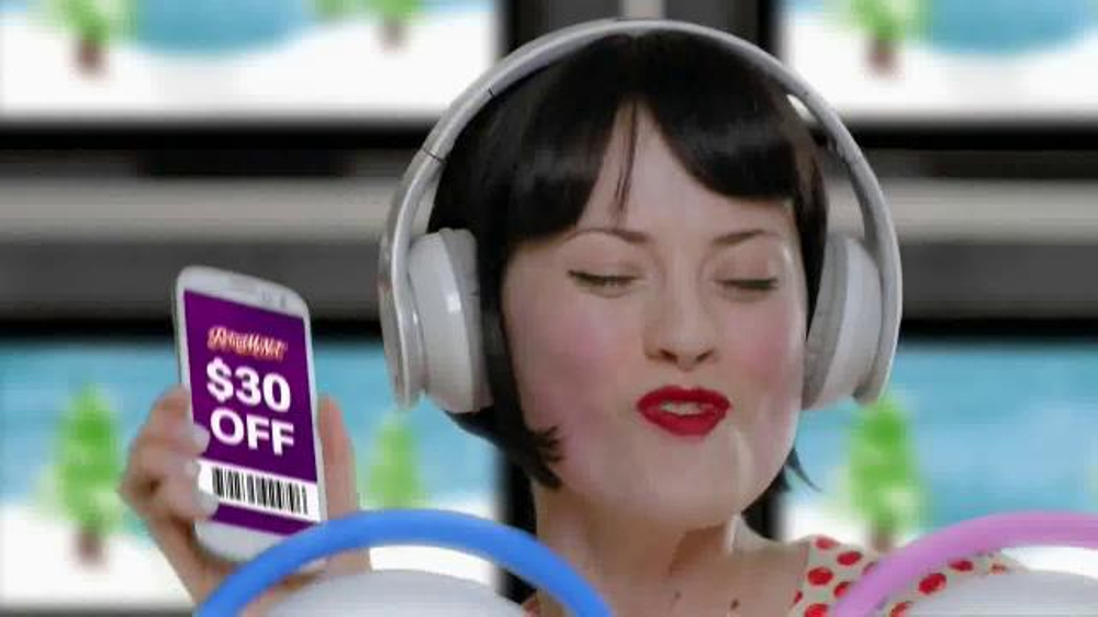 Retailmenot.com TV Commercial, 'Would Free Stuff Rock Your Holidays?'