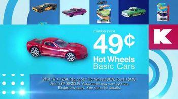 Kmart Blue Light Member Special TV Spot, 'Hot Wheels, Towels and Denim' - Thumbnail 4