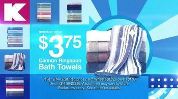 Kmart Blue Light Member Special TV Spot, 'Hot Wheels, Towels and Denim' - Thumbnail 6