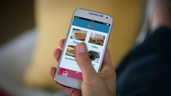 Domino's Voice Ordering App Pizza TV Spot, 'It's Football Sunday' - Thumbnail 1