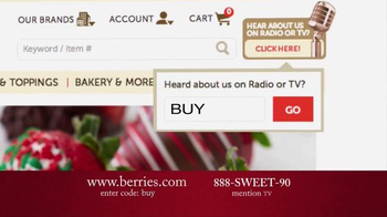 Shari's Berries TV Spot, 'Surprise Them With Something Different' - Thumbnail 10