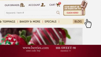 Shari's Berries TV Spot, 'Surprise Them With Something Different' - Thumbnail 9