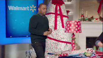Walmart TV Spot, 'Wrapping Gifts' Ft. Melissa Joan Hart, Anthony Anderson - Thumbnail 1