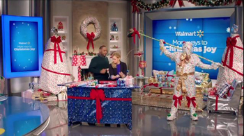 Walmart TV Spot, 'Wrapping Gifts' Ft. Melissa Joan Hart, Anthony Anderson - Thumbnail 6