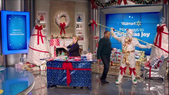 Walmart TV Spot, 'Wrapping Gifts' Ft. Melissa Joan Hart, Anthony Anderson - Thumbnail 7