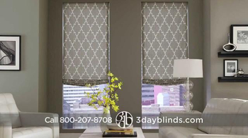 3 Day Blinds TV Spot, 'Custom Blinds, Shades, Shutters, Curtains & Drapes' - Thumbnail 2