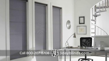 3 Day Blinds TV Spot, 'Custom Blinds, Shades, Shutters, Curtains & Drapes' - Thumbnail 3