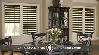3 Day Blinds TV Spot, 'Custom Blinds, Shades, Shutters, Curtains & Drapes' - Thumbnail 4