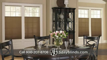 3 Day Blinds TV Spot, 'Custom Blinds, Shades, Shutters, Curtains & Drapes' - Thumbnail 5