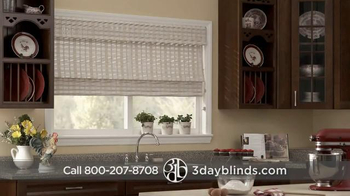 3 Day Blinds TV Spot, 'Custom Blinds, Shades, Shutters, Curtains & Drapes' - Thumbnail 6