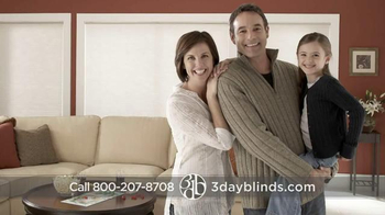 3 Day Blinds TV Spot, 'Custom Blinds, Shades, Shutters, Curtains & Drapes' - Thumbnail 7