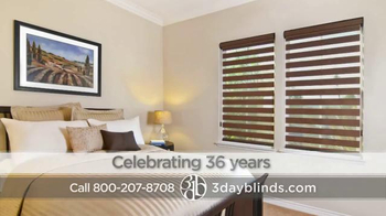 3 Day Blinds TV Spot, 'Custom Blinds, Shades, Shutters, Curtains & Drapes' - Thumbnail 8