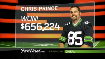 FanDuel Fantasy Football One-Week Leagues TV Spot, 'All the Excitement' - Thumbnail 3