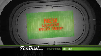 FanDuel Fantasy Football One-Week Leagues TV Spot, 'All the Excitement' - Thumbnail 4