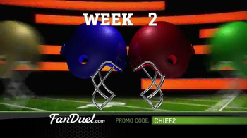 FanDuel Fantasy Football One-Week Leagues TV Spot, 'All the Excitement' - Thumbnail 5