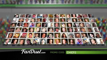 FanDuel Fantasy Football One-Week Leagues TV Spot, 'All the Excitement' - Thumbnail 7