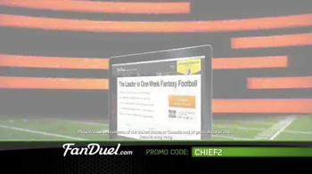 FanDuel Fantasy Football One-Week Leagues TV Spot, 'All the Excitement' - Thumbnail 8