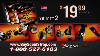 Squid Strap TV Spot, 'Easy, Safe and Versatile' - Thumbnail 9