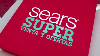 Sears Súper Venta y Ofertas TV Spot, 'Este Día de Fiesta' [Spanish]