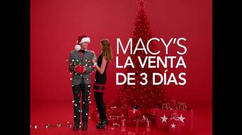 Macy's Venta de Tres Días TV Spot, 'Lista de Navidad' [Spanish] - Thumbnail 2