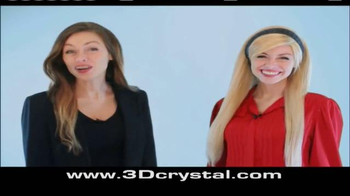 3D Crystal TV Spot, 'Perfect Display for the Home' - Thumbnail 1