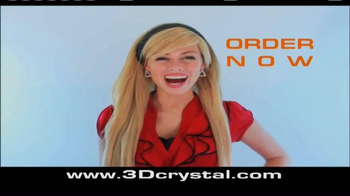3D Crystal TV Spot, 'Perfect Display for the Home' - Thumbnail 9