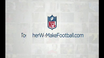 NFL Together We Make Football TV Spot, 'The Wrights' - Thumbnail 10