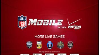 Verizon NFL Mobile TV Spot, 'More Coverage' - Thumbnail 9