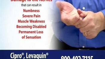 Thomas Law Offices TV Spot, 'Cipro, Levaquin & Avelox Warning' - Thumbnail 6